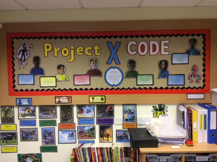 Project X Code Team - develop reading skills