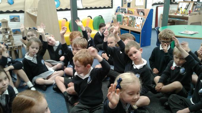 In Reception we discussed our favourite food and sport. We then asked the children if they knew where their favourite food or sport originated from. British Values is embedded in the Early Years Curriculum as we learn all the time about different cultures, respect and the right to vote for new ideas in the classroom.