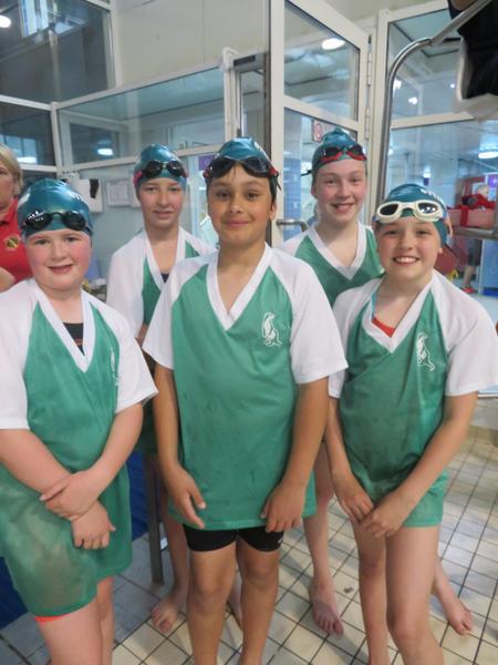 Well done to Rebecca, Maddie, Caragh, Ella & Fabi