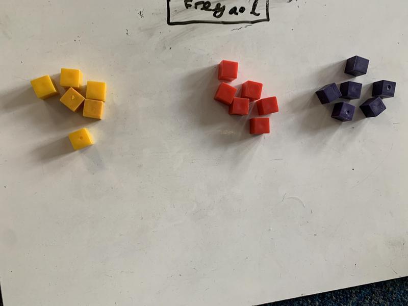 Freya's calculation was 3x6