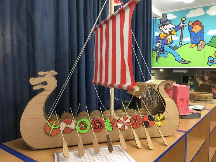 Year 6: 3D Vikings project