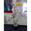 Our Lenten Tree.