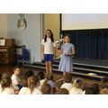 The Paddy Lennon Maths Trophy went to Elizabeth