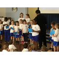 Ivanah won the KS1 trophy for her singing
