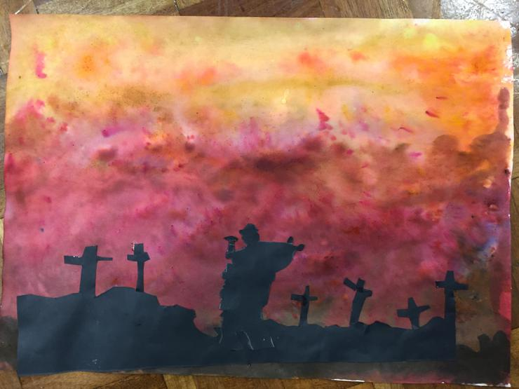 Arts Week: Remembrance painting