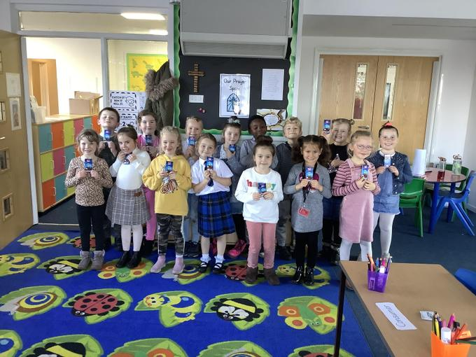 Lots of children have got their Strive for Five award every week this half-term