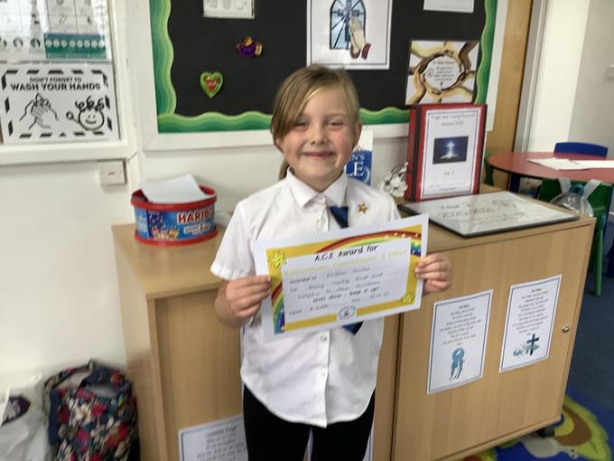 This week's certificate winner!