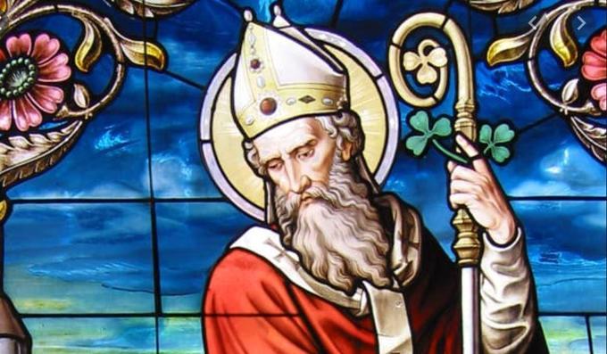 St Patrick is the Patron Saint of Our School