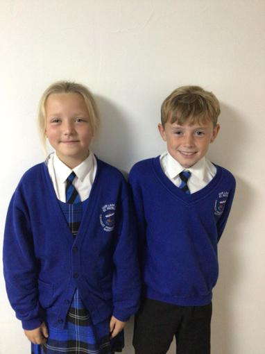 Ava and Dylan have been selected as the school council for year 5!