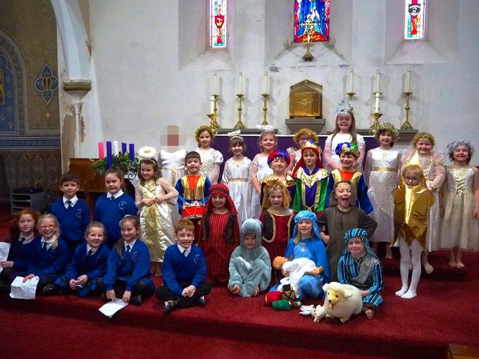 WE celebrate the Nativity every year, with our Nativity Plays and Tableau in Church