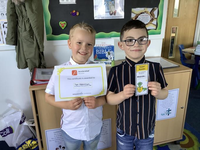 More Accelerated Reader awards