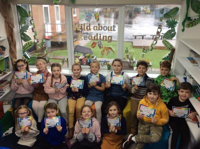 Year 4 'Strive for Fivers' November 2020