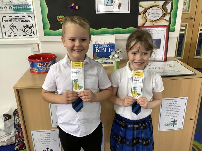 Bookmarks for children who have passed 5 book quizzes at 100%