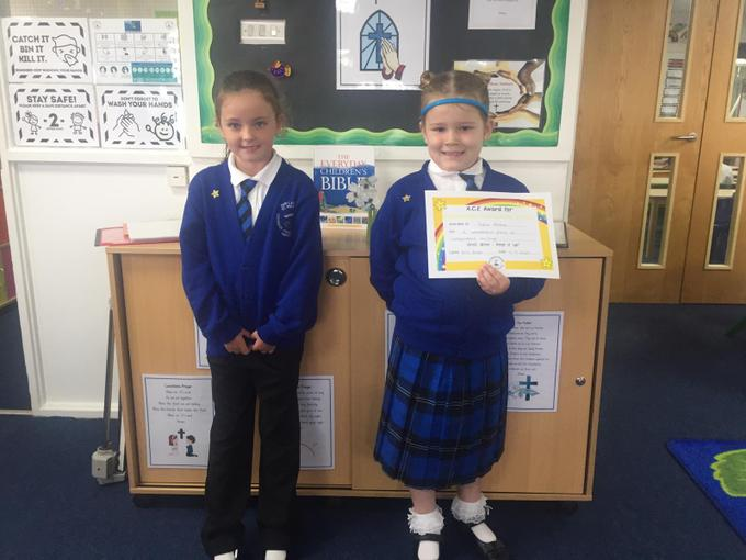 This week's VIP and ACE certificate winner!