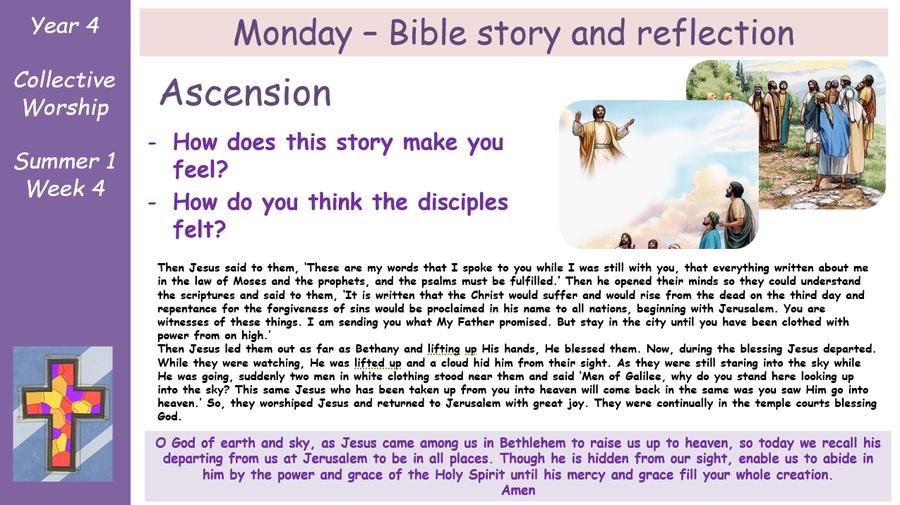 Monday - Bible Story