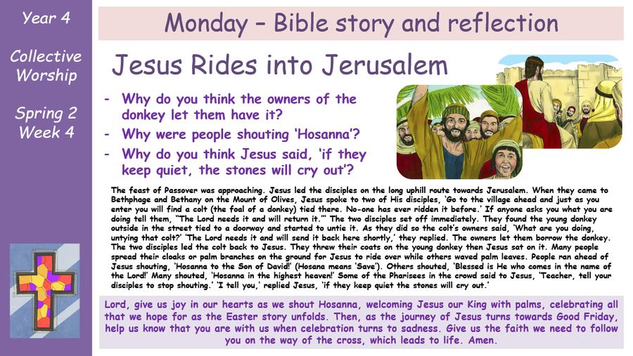 Monday - Bible Reading