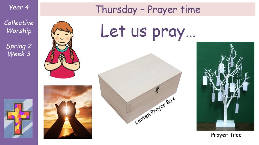 Thursday - Prayer Time