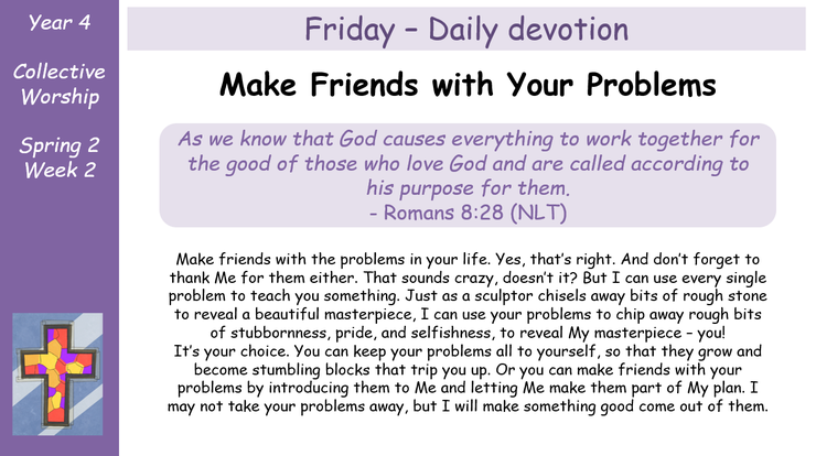 Friday - Daily Devotion