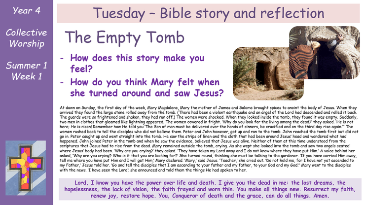 Tuesday - Bible Storry
