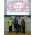 Joshua, Samuel, Ben and Tatenda: Fitness Champions