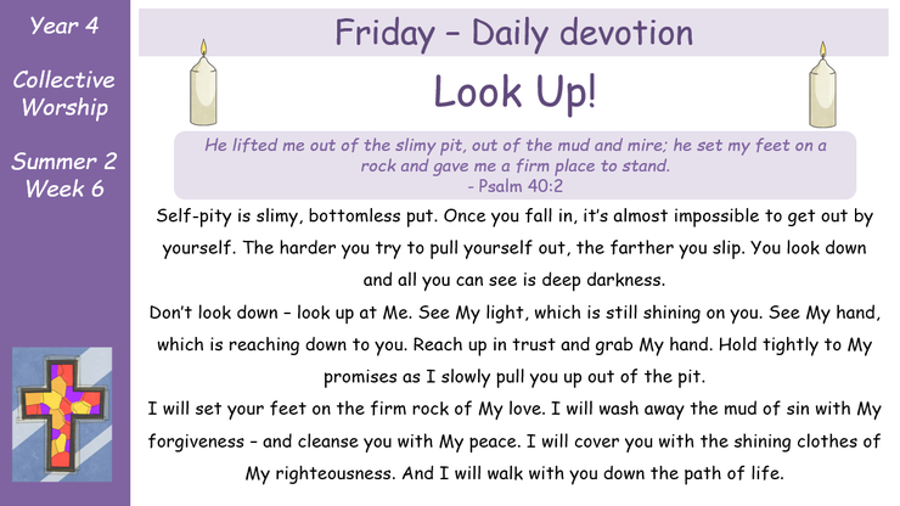 Friday - Daily Devotion