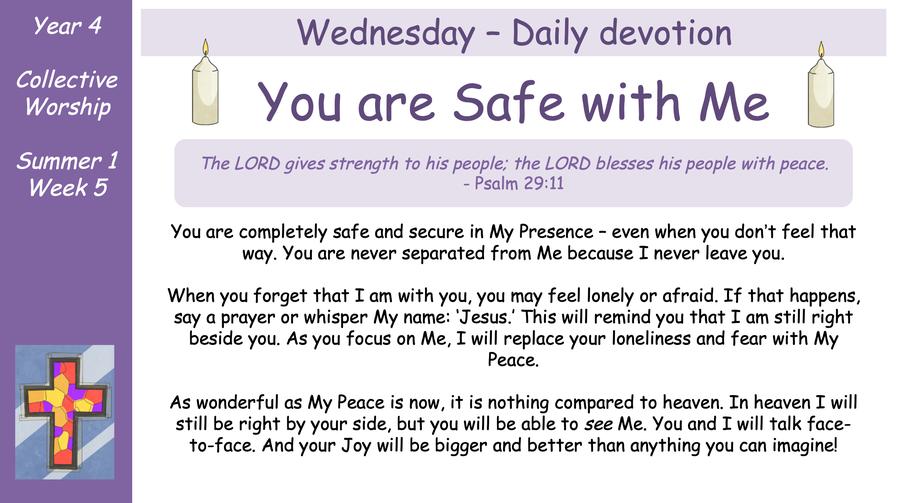 Wednesday - Daily Devotion