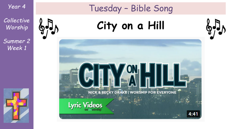Tuesday - Bible Song