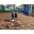 Crunching leaves!