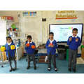 Recognising the place value of digits in whole 4-digit numbers.