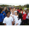 Race photographs of the Year 6 Girls.
