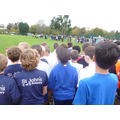Race photographs of the Year 6 Boys.