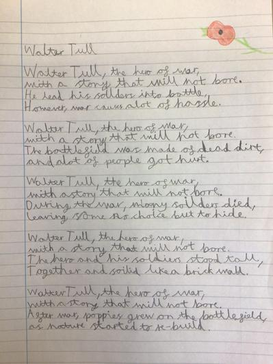 Poem by Joshua - Walter Tull