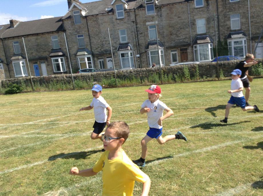 Run boys run!