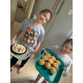 Yum! Those cakes look delicious Niamh and Ella.