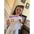 Fantastic Pentecost poster Niamh.