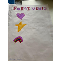 Niamh's forgiveness poster