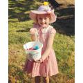 Brooke made a beautiful Easter bonnet.