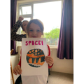 Niamh has started a space topic!