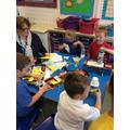 We had so much fun making rockets!