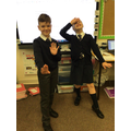 Year 5 performing The Convergence of the Twain by Thomas Hardy.