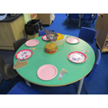 Retelling the story at the tea party