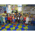 Our Class in Costume!