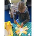 Making a beautiful, bright sunflower