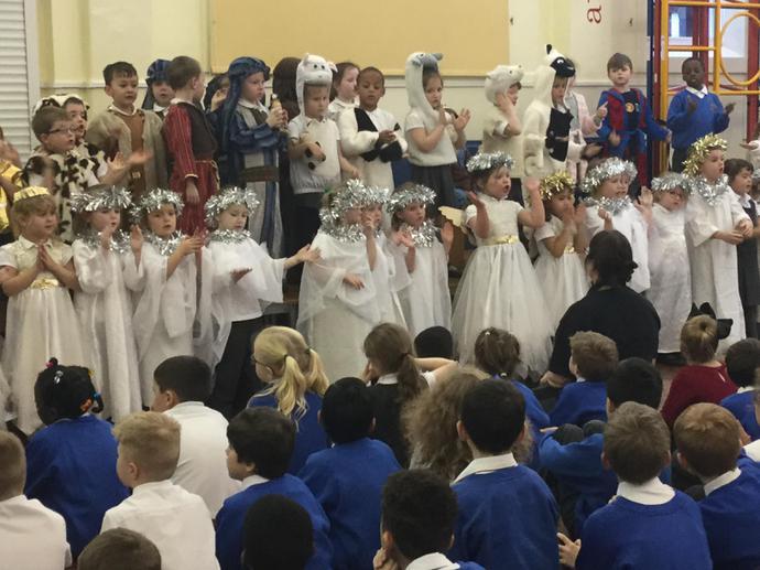 A chorus of Infant angels...