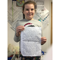 Extra work - a really committed learner!