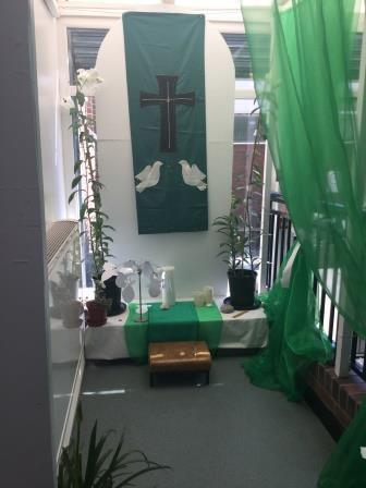Our Prayer Area during Ordinary Time...