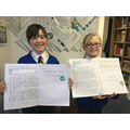 Excellent writing from these Year 4 girls...