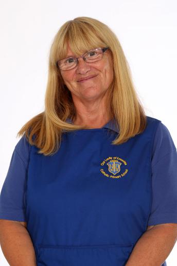 Mrs Loughran, Senior Lunchtime Supervisor