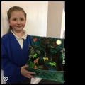 Creating a fantastic rain forest model...