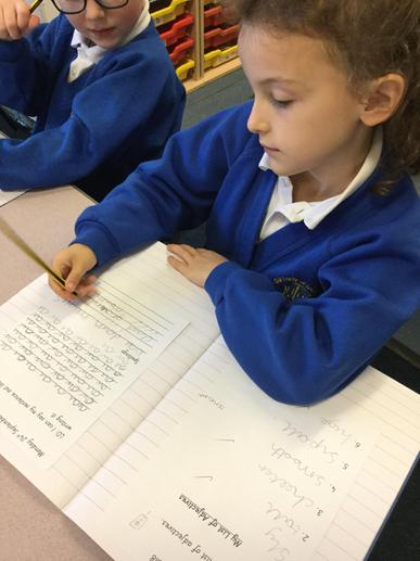 Can you practise the cursive formation now?